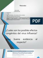 Efectos congénitos, fetales y neonatales de hijo madre con influenza virus FINAL LUNES.pptx