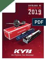Kyb Catalogo Amortecedores 2019