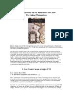 Breve Historia de las Fronteras de Chile - Jaime Eyzaguirre