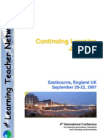 Eastbourne 2007 Conference Brochure
