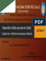 01 Definicion de Liderazgo - Influencia