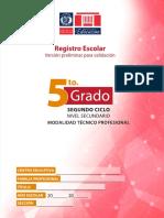 Registro de 5to Grado Nivel Secundario ETP.pdf