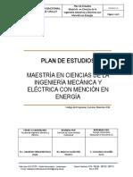 P81 MAESTRÍA EN CIENCIAS DE LA INGENIERÍA MECÁNICA Y ELÉCTRICA CON MENCIÓN EN ENERGÍA