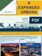 A expansão urbana.ppt
