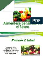 Alimentación saludable.pps