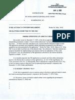 FISA Court - David Kris - Amicus