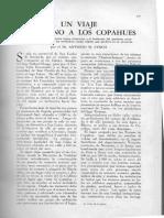 Un viaje sin plano a los copahues / Linch, Antonio M.