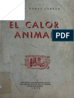 El Calor Animal por Enrique Gomez Correa