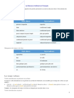 Les Discours Indirect en Français.docx