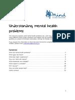 Understanding Mental Health Problems 2018 Web PDF