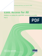 ESOL Access for All - Part 2