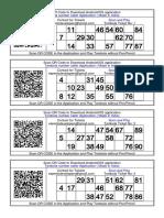 200+ Tambola ticket in hindi English mix Printable FREE