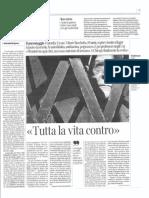 Vittore Bocchetta Corriere-del-Trentino-1.11.2016