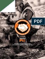 Timberland PRO 2017 Partnership at Work Brand Brochure - International - Spanish.pdf