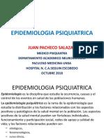 EPIDEMIOLOGIA PSIQUIATRICA 2018 QUNTA ROTACION.ppt