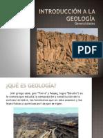 01.- Introducción a la Geología