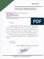 Petição de Juntada - TCE PREFEITO AJURICABA MONTES ALTOS