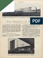 Das Bauhaus in Defau
