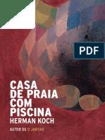 Casa de Praia Com Piscina - Herman Koch
