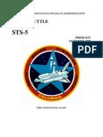 STS-5 Press Kit