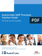 AudioCodes VoIP Processors (Chips) Solutions Guide.pdf