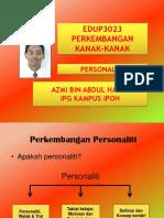 Kuliah 23 & 24 Personaliti & Helah Bela Diri.ppt