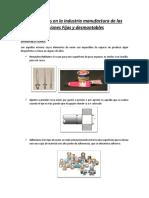 APLICACIONES EN LA INDUSTRIA MANUFACTURA DE LAS UNIONES FIJAS Y DESMONTABLES.docx