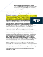 El Diagnostico Situacional Del Sector Agropecuario Del Municipio en El Aspecto de Ingresos Monetarios Por Productor