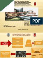 CONDUCTA ETICA Y LEGAL EN LA APLICACION DE LA LEY.pptx