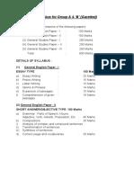 group-a-b-gazetted-syllabus