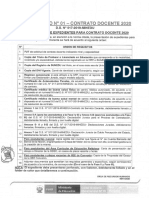 ORDEN DE REQUISITOS EXPEDIENTE CONTRATO DOCENTE