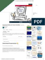 PPT - Funciones Reales de Varias Variables