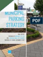 Horsham council Municipal Parking Strategy