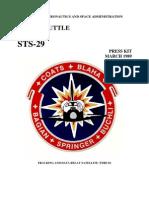 STS-29 Press Kit