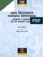 Abel Albet con la colaboración de Pilar Benejam - Una geografía humana renovada - lugares y regiones en un mundo global.pdf