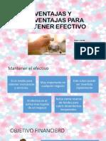 VENTAJAS Y DESVENTAJAS PARA MANTENER EFECTIVO_GRUPO 5.pptx