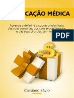 EBOOK Grátis - Precificacao Medica - Cassiano Savio
