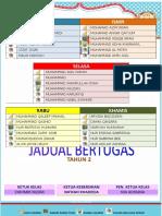 Jadual Tugasan Bilik Darjah 2.docx