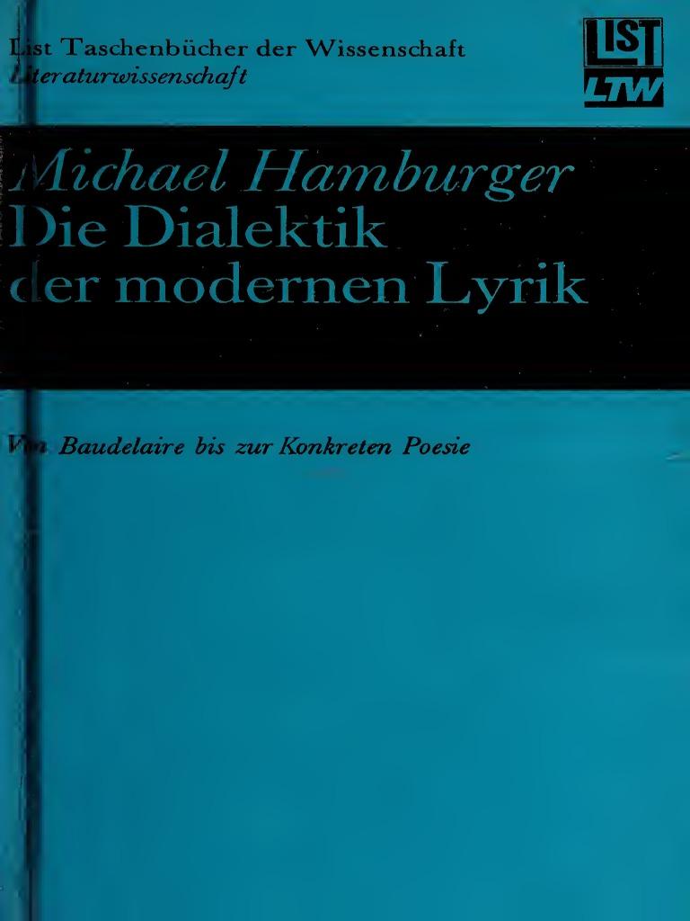 Die Dialektik der modernen Lyrik. Von Baudelaire bis zur