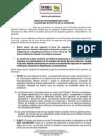 Circular Estatuto de la oposicion - Enero 2020 - final