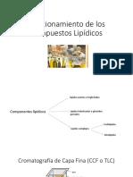 Fraccionamiento de los Compuestos Lipídicos 10