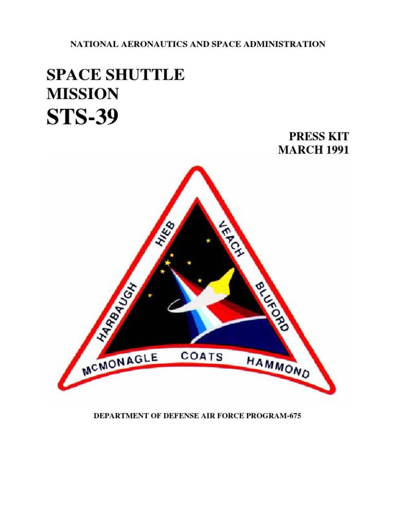 STS-39 Press Kit | Aurora | Ap...