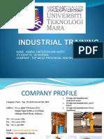 INDUSTRIAL TRAINING POWERPOINT-2020.pptx