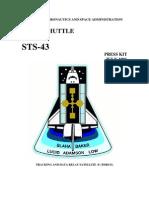STS-43 Press Kit