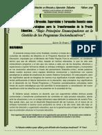 ENSAYO MAESTRIA-DRECCION Y SUPERVISIÓN
