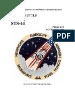STS-44 Press Kit