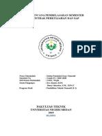 SILABUS, RPS, SAP dan Kontrak Perkuliahan MK Sistem Pemindah Daya Otomotif