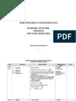 RPT PHYSICS STPM TERM 2 2020