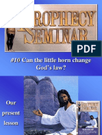 10 Can the little horn change God's law.ppt