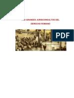 JURISCONSULTOS DE ROMA.docx